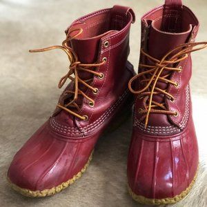 Limited Edition Red LLBean Boots!